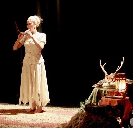 Contes avec Melody de la Cie du Lysandore Pleurtuit