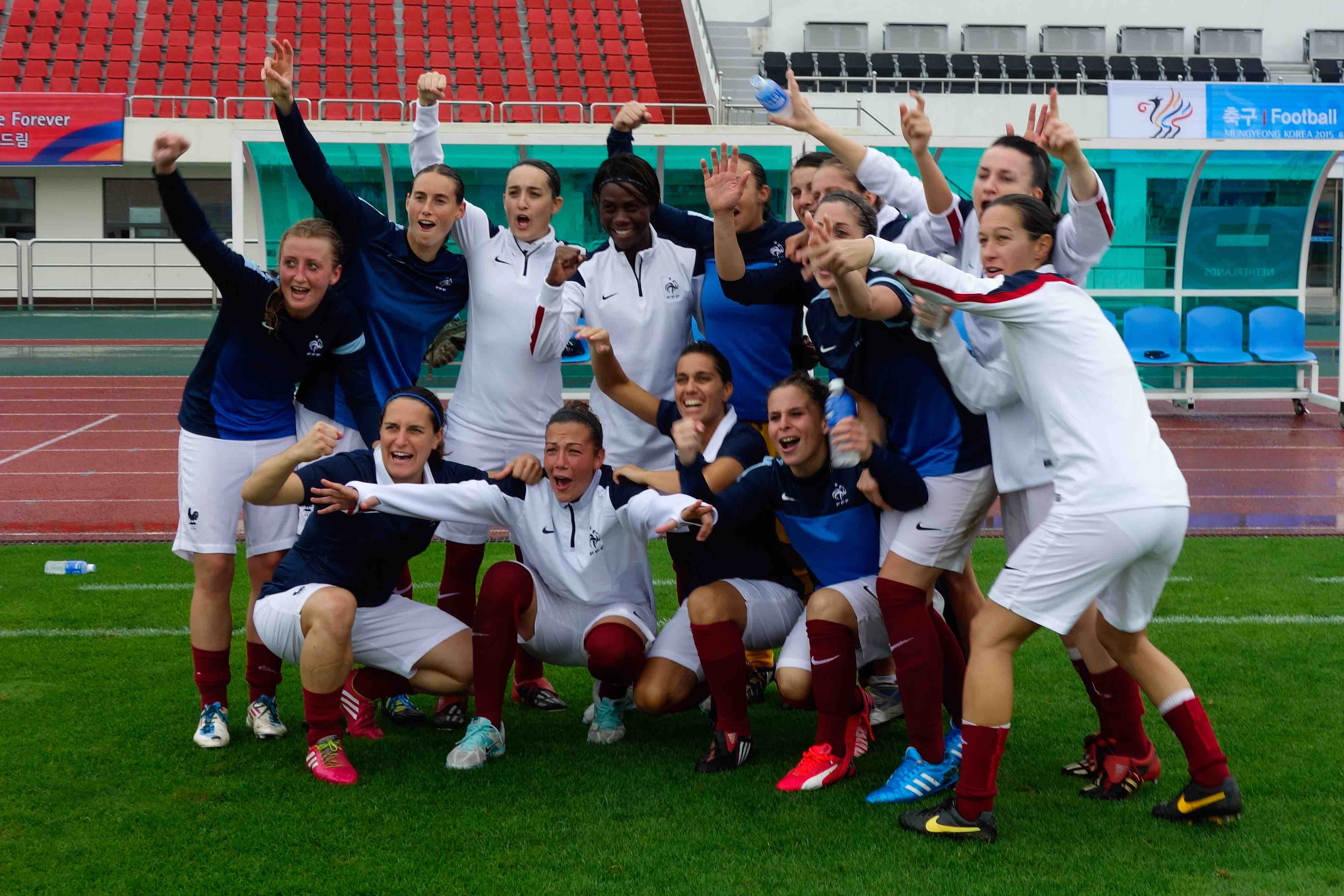 Rennes 1 re coupe du monde militaire de football f minin - Coupe du monde de football feminin ...