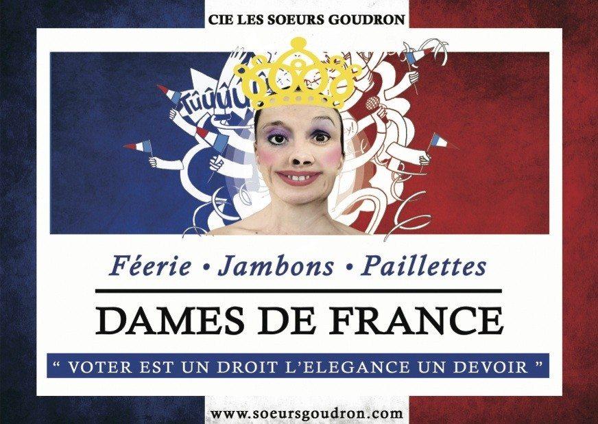 Cie Les sœurs Goudron Dames de France Barbâtre
