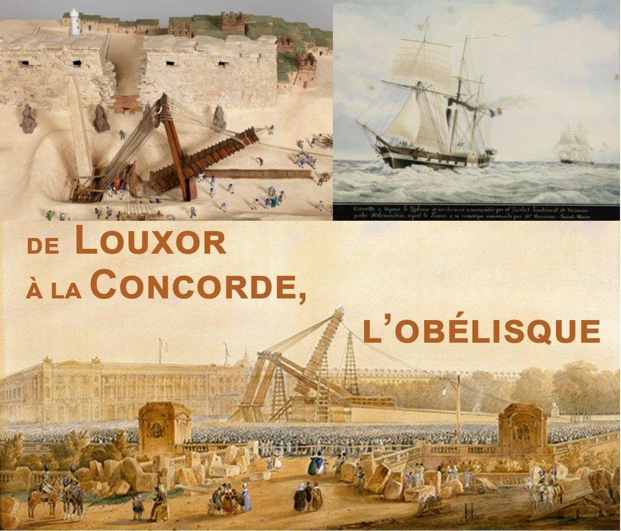 De Louxor à La Concorde, l'aventure de l'Obélisque Saint-Jean-des-Échelles