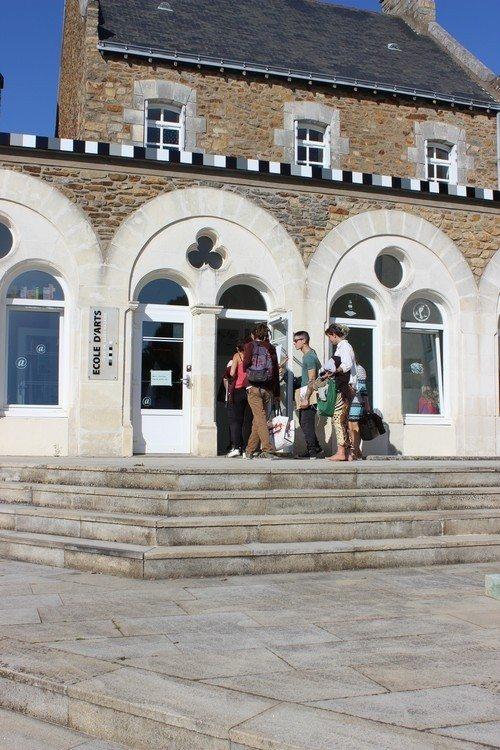 École d'arts à l'essai Saint-Nazaire