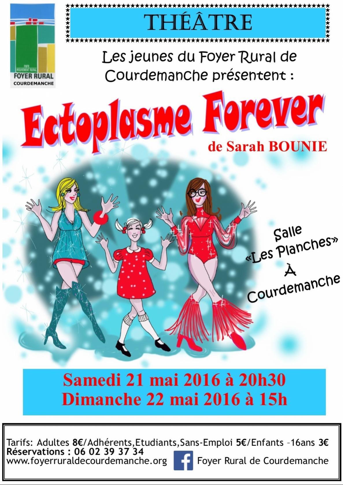 Ectoplasme Forever par la troupe ado du FRC Courdemanche