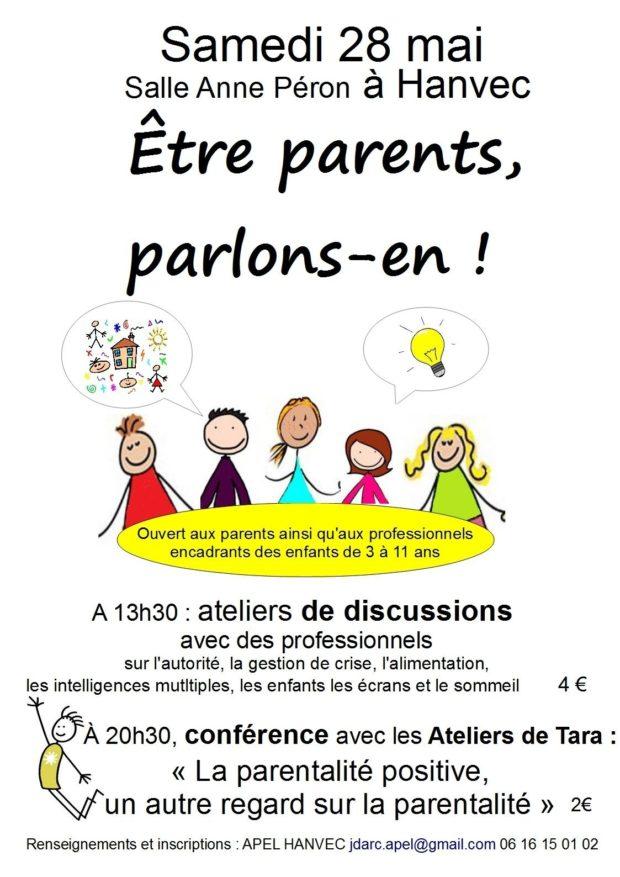 Être parents, parlons-en ! Hanvec