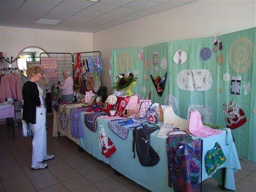 Expo-vente du club Saint-Lunaire