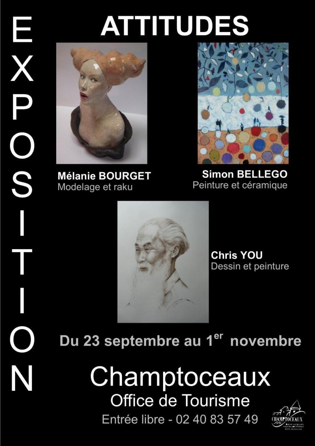 Exposition Attitudes Orée-d'Anjou