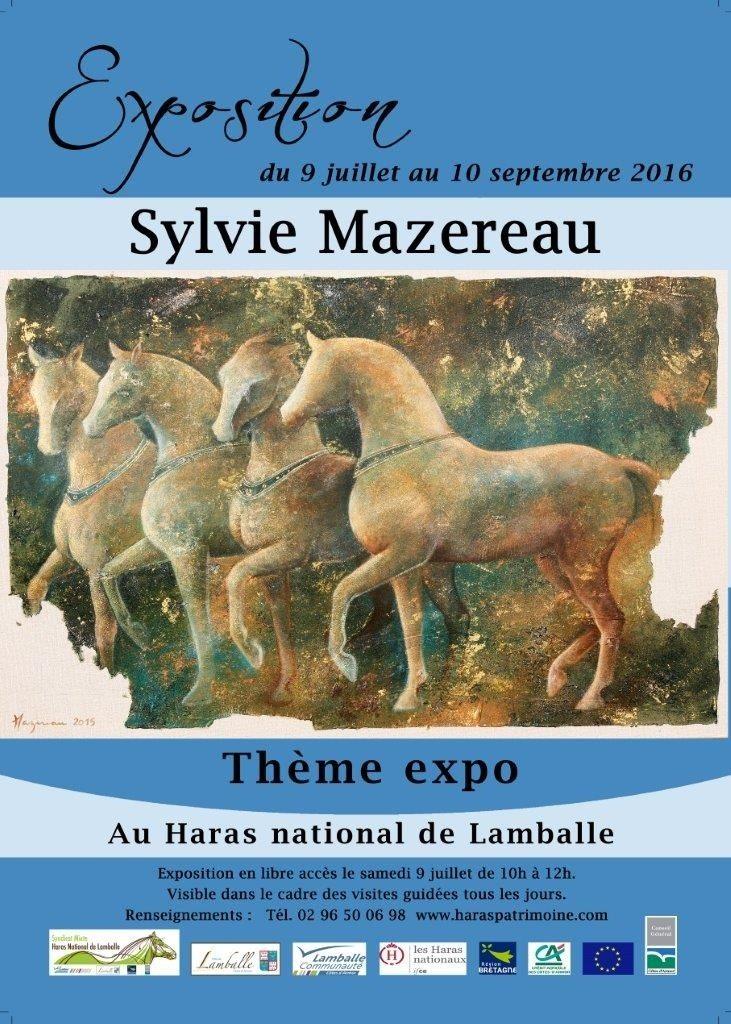 Exposition de Sylvie Mazereau au haras national Lamballe