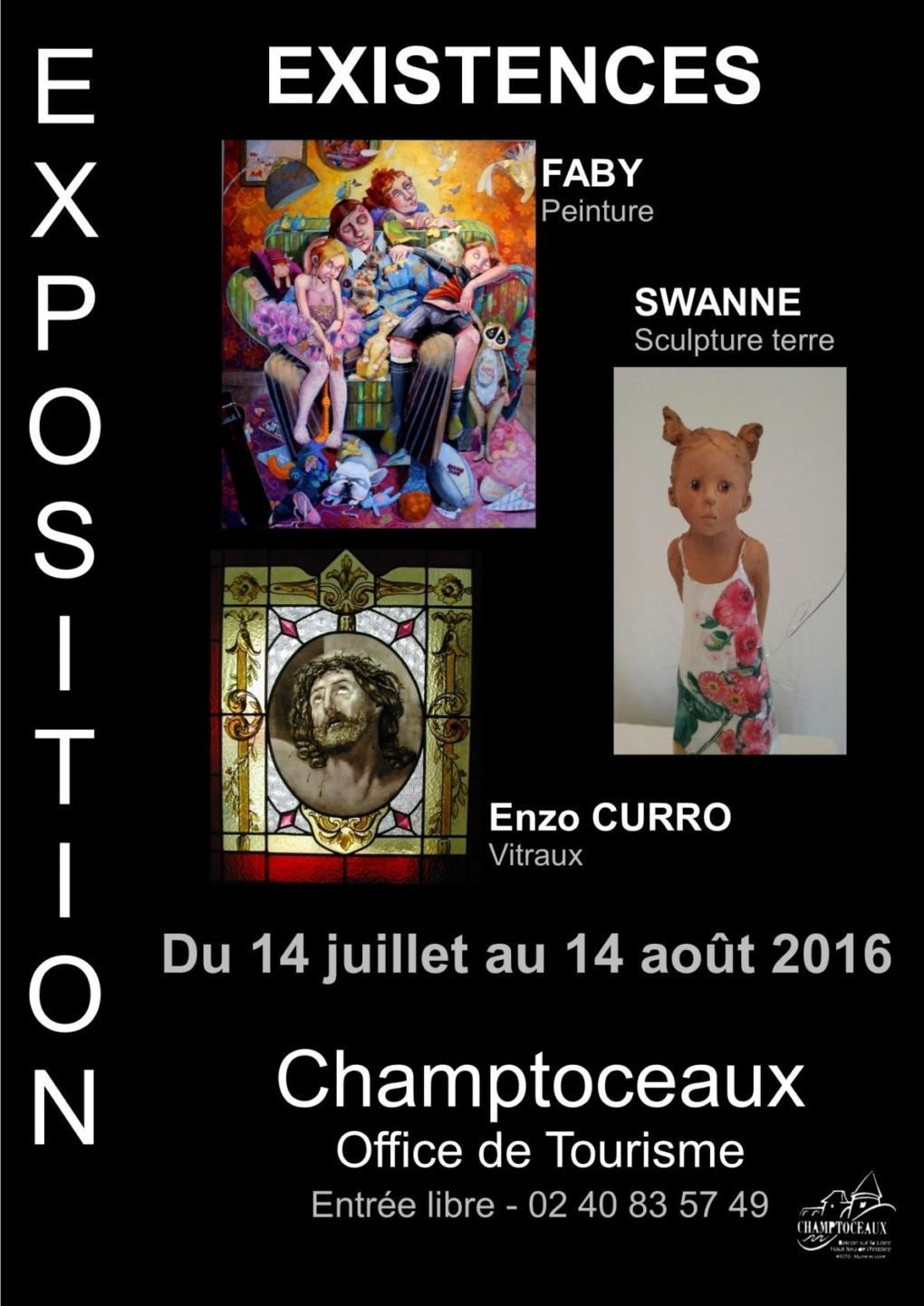 Exposition Existences Orée-d'Anjou