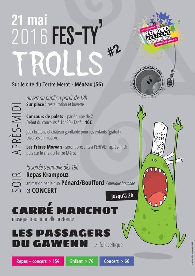 Fes-ty' trolls Ménéac