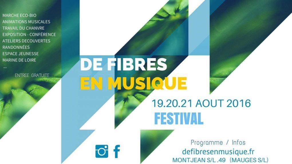 Festival de Fibres en musique Mauges-sur-Loire