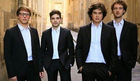 Festival Été musical concert du quatuor Van Kuijk Dinan