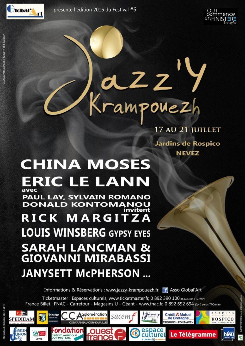 Festival Jazz'y Krampouezh 2016 Névez