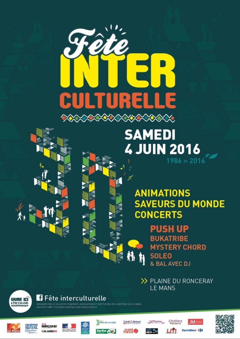 Fête interculturelle, 30e édition Le Mans