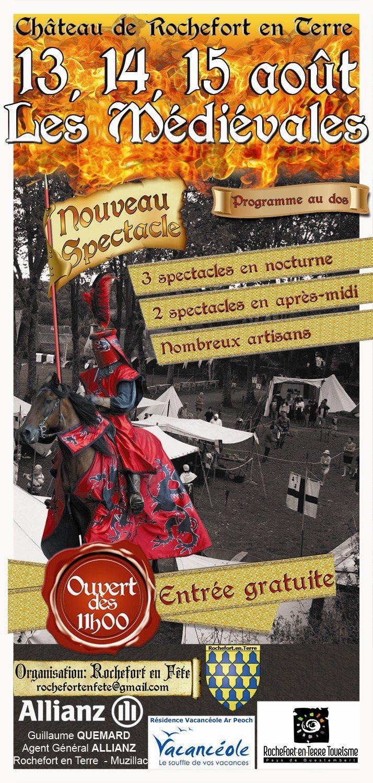 Fête médiévale à Rochefort en Terre Rochefort-en-Terre