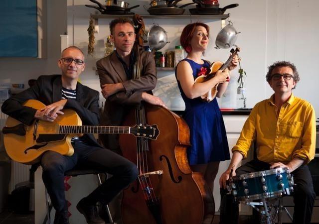 French cuisine apéro concert jazz chansons françaises Regnéville-sur-Mer