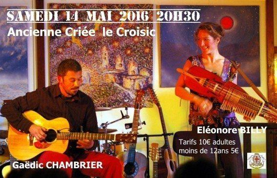 Gaëdic Chambrier et Éléonore Billy : Histoire de Guitares-Octario Le Croisic
