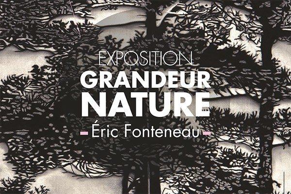 Exposition : Grandeur Nature d'Eric Fonteneau Gétigné