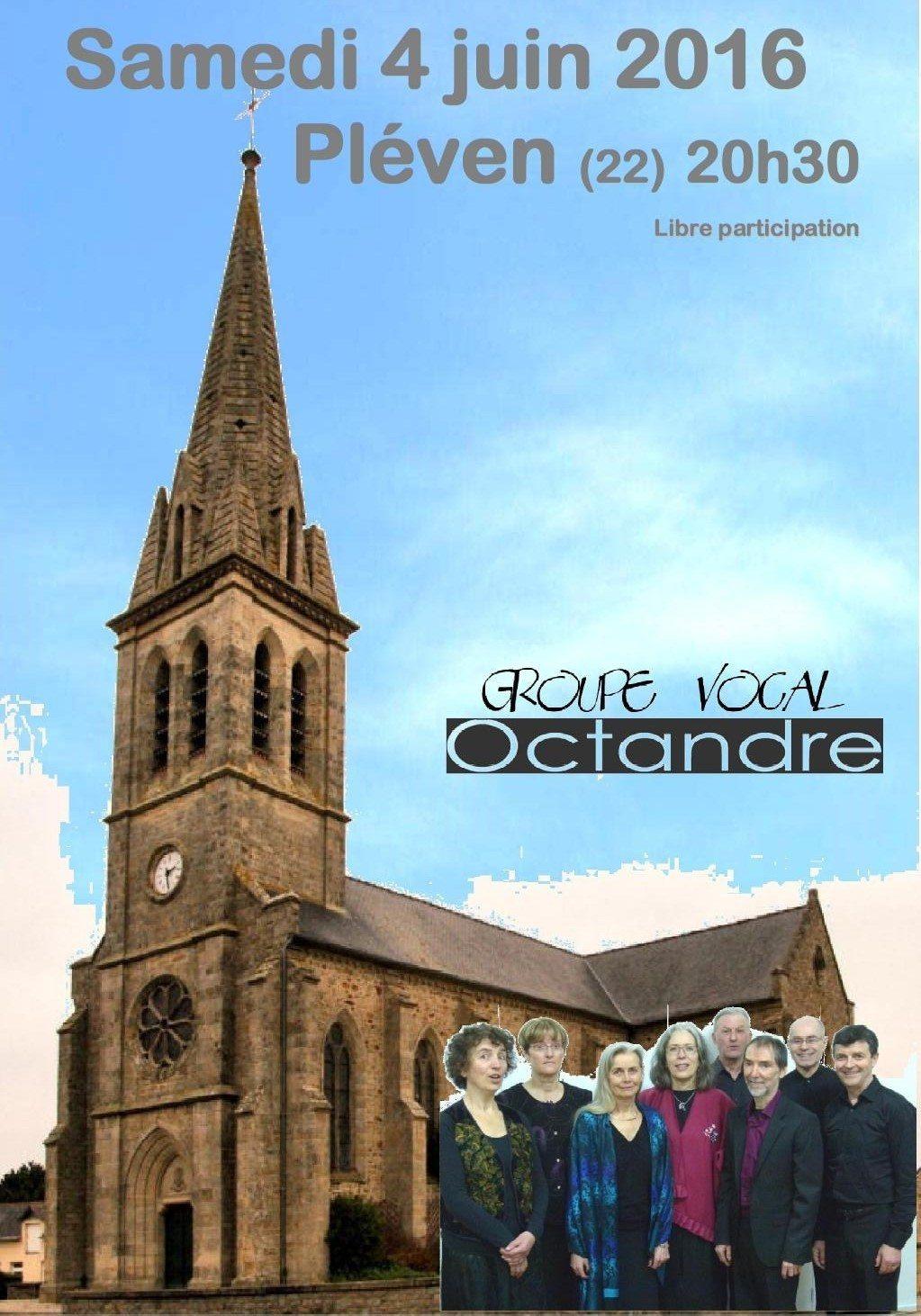 Groupe vocal Octandre Pléven