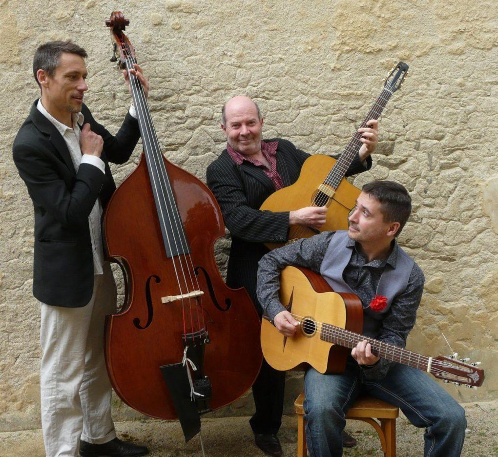 Hanuman Trio soirée Guitares gitanes Jazz'y Krampouezh 2016 Névez