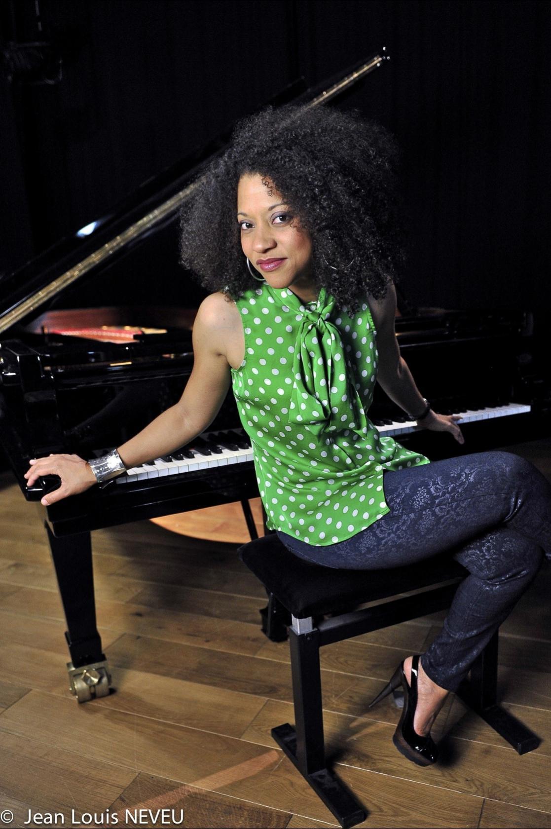 Janysett McPherson au festival Jazz'y Krampouezh Névez