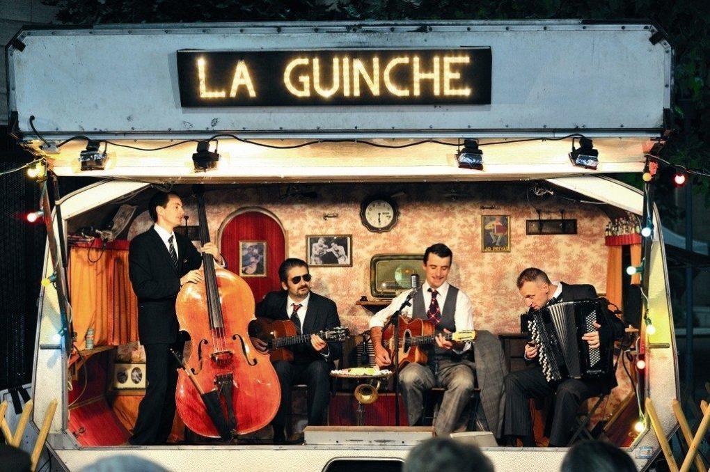 La guinchette à roulettes... et son bal concert Saint-Hilaire-de-Riez