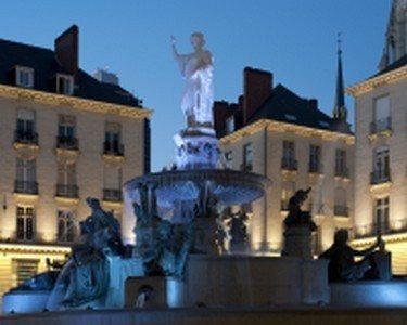 La ville allumée Nantes