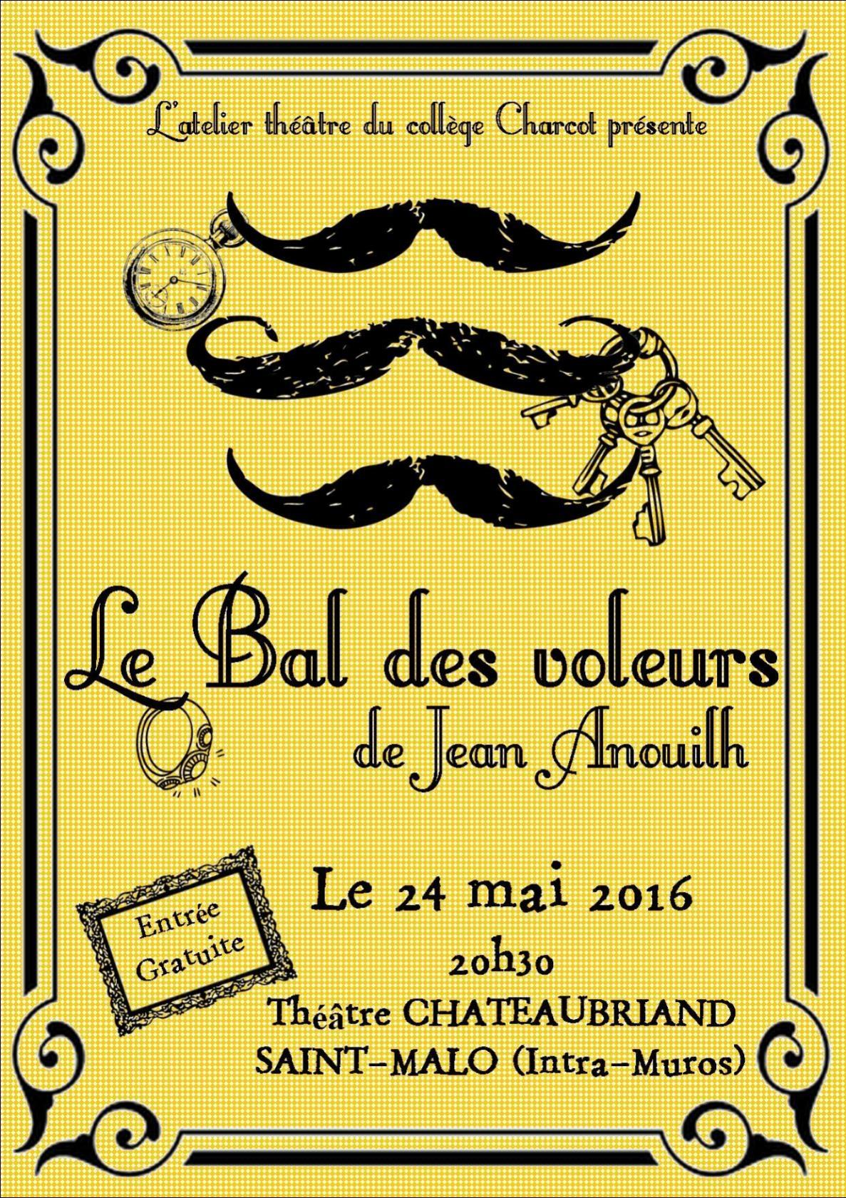 Le Bal des Voleurs Saint-Malo