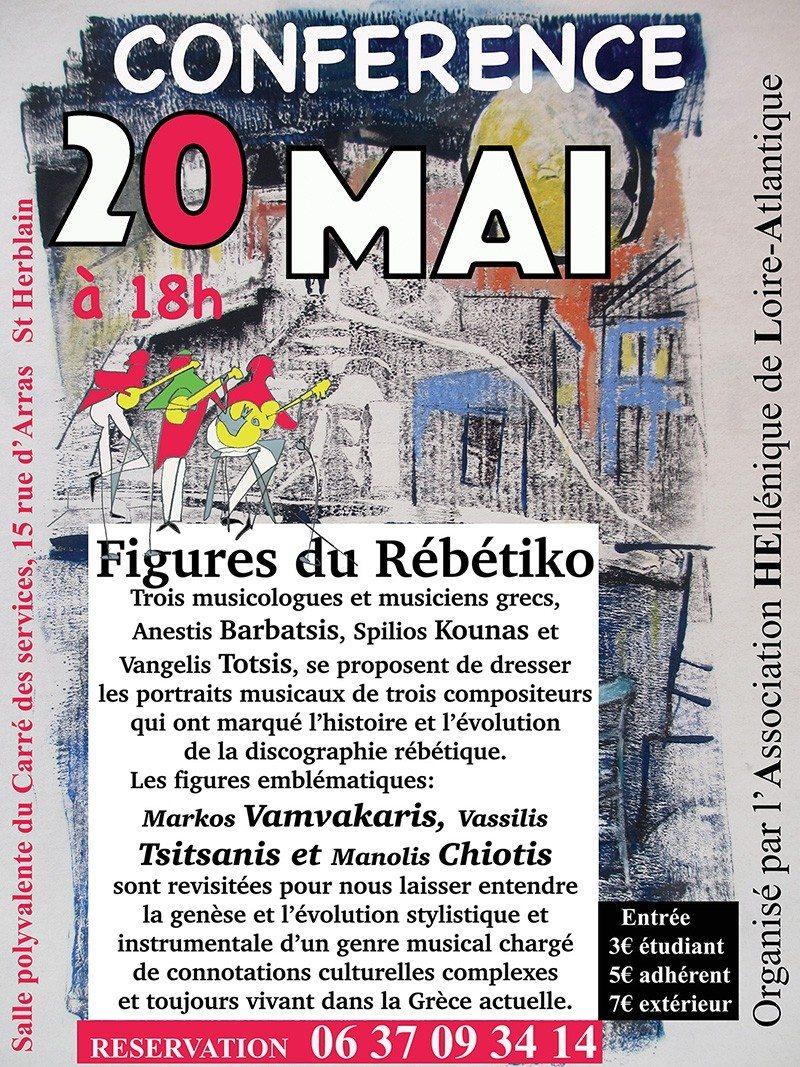 Les figures du Rébétiko Saint-Herblain