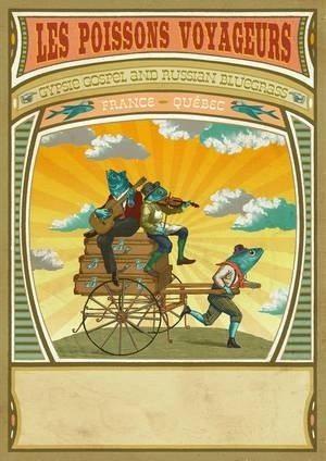 Les Poissons voyageurs, voyage musical Noyal-Châtillon-sur-Seiche