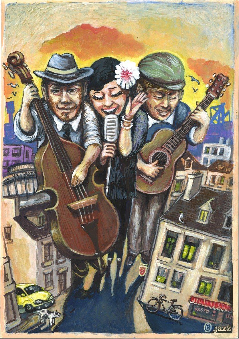 Les Triplettes de Merville soirée Jazz vocal Névez