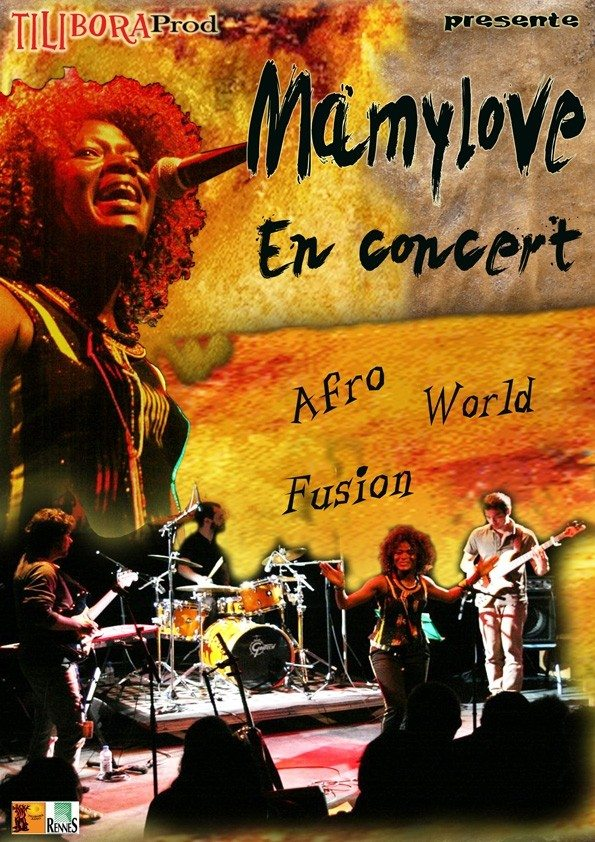 Mamylove (Afro-World) percussion et danse africaine Rennes