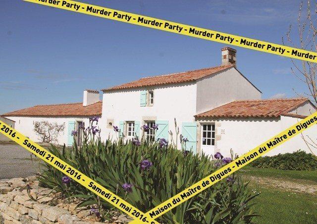 Murder Party à la maison du Maître de Digues Chaillé-les-Marais