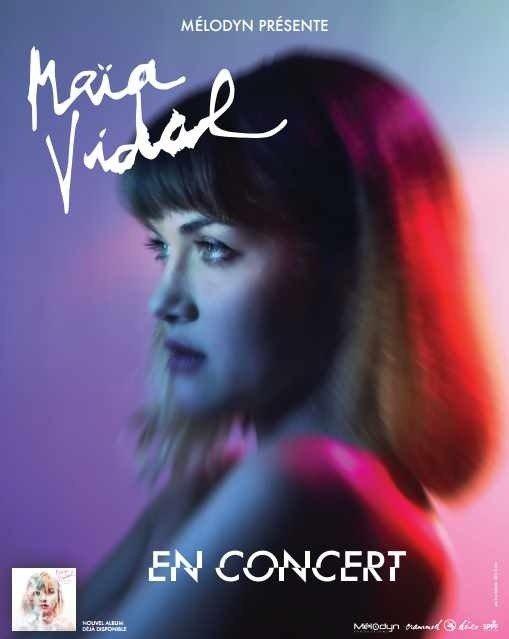 Music on the Beach Maïa Vidal en concert Carnac