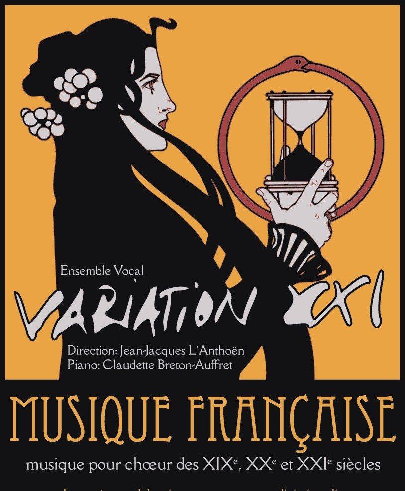 Musique Française du XIXe au XXIe siècles par Variation XXI Minihy-Tréguier