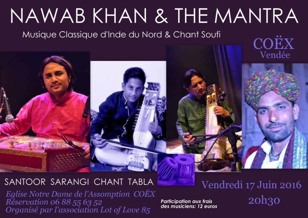 Nawab Khan et The Mantra Coëx