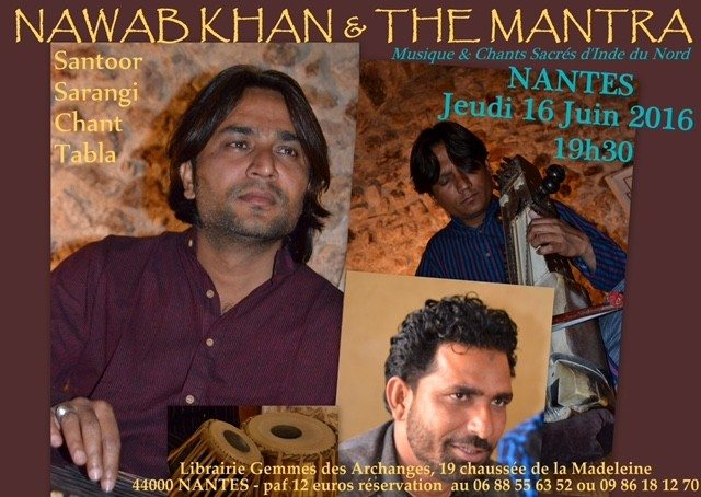 Nawab Khan et The Mantra Nantes