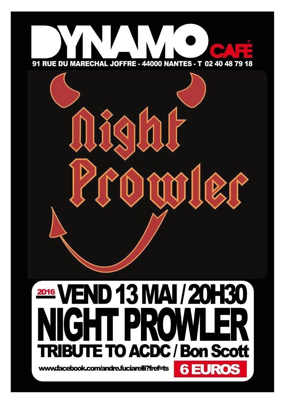 Night prowler Nantes