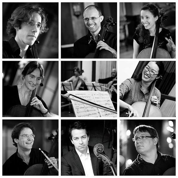Nuits musicales en Vendée romane Ô-Celli (huit violoncelles) Mouchamps