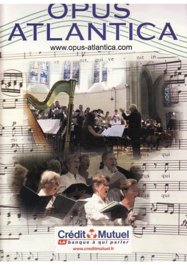 Opus Atlantica organise un stage de chant choral - voix mixtes La Baule-Escoublac