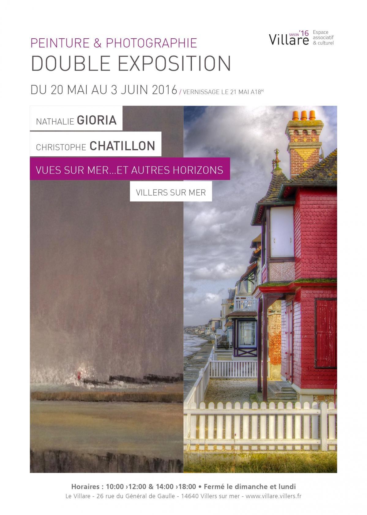 Pastel et photographie : Vues sur mer... et autres horizons Villers-sur-Mer