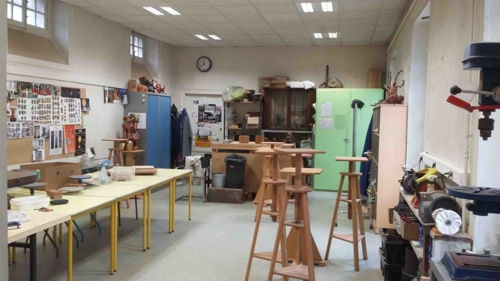 Portes-ouvertes de l'atelier de sculpture de Coutances Coutances