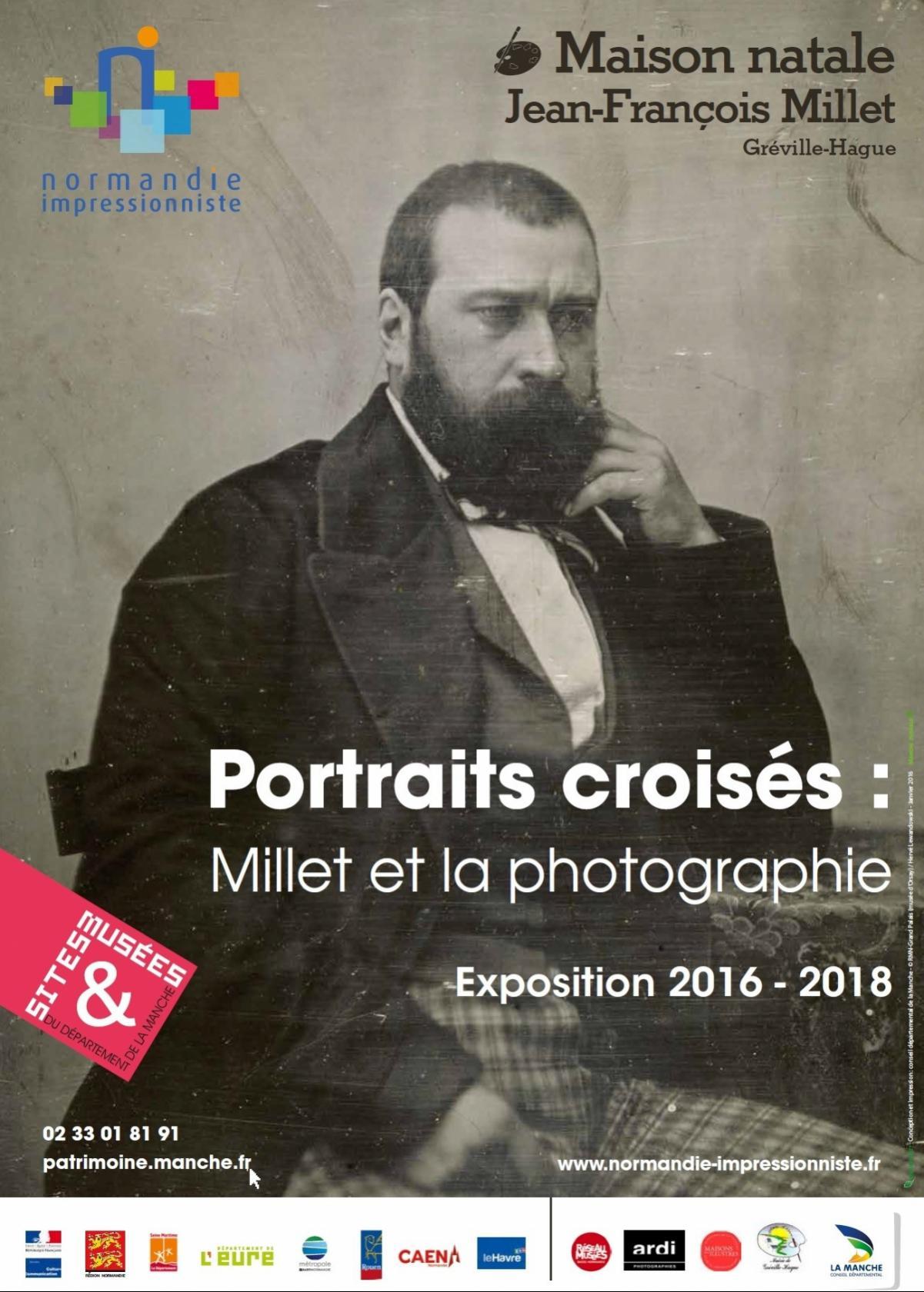 Portraits croisés Millet et photographie Gréville-Hague