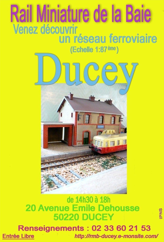Rail miniature de la baie Ducey