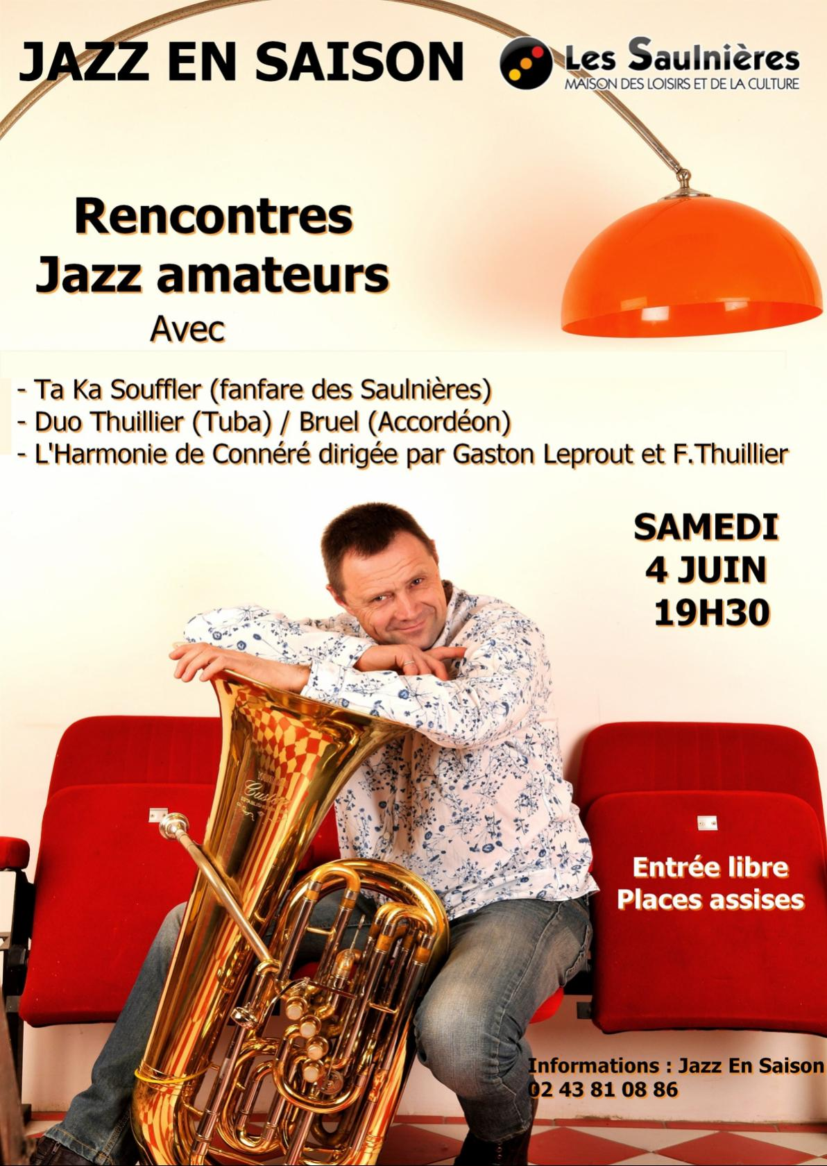 Rencontres Jazz amateurs Le Mans