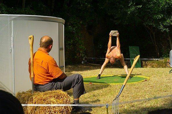 Rendez-vous aux Jardins spectacle Entre Serre et Jardin Gétigné
