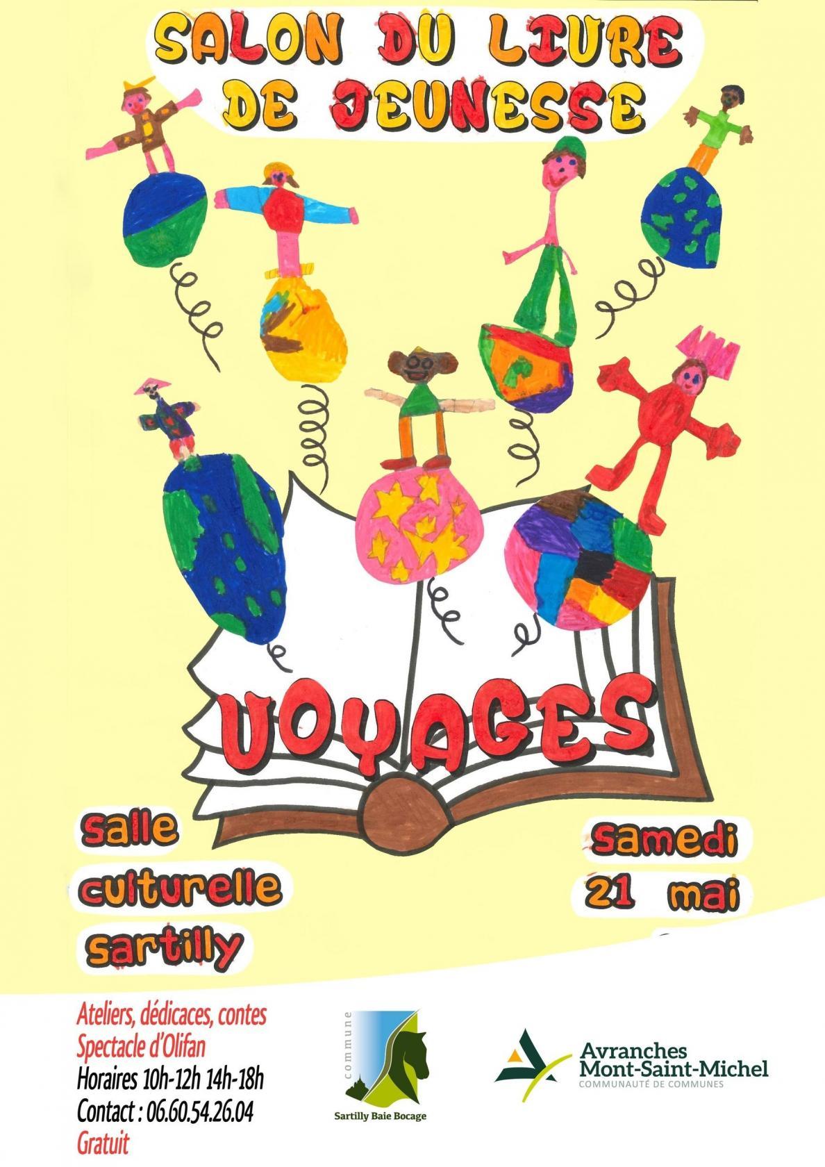 Salon du livre jeunesse Sartilly-Baie-Bocage