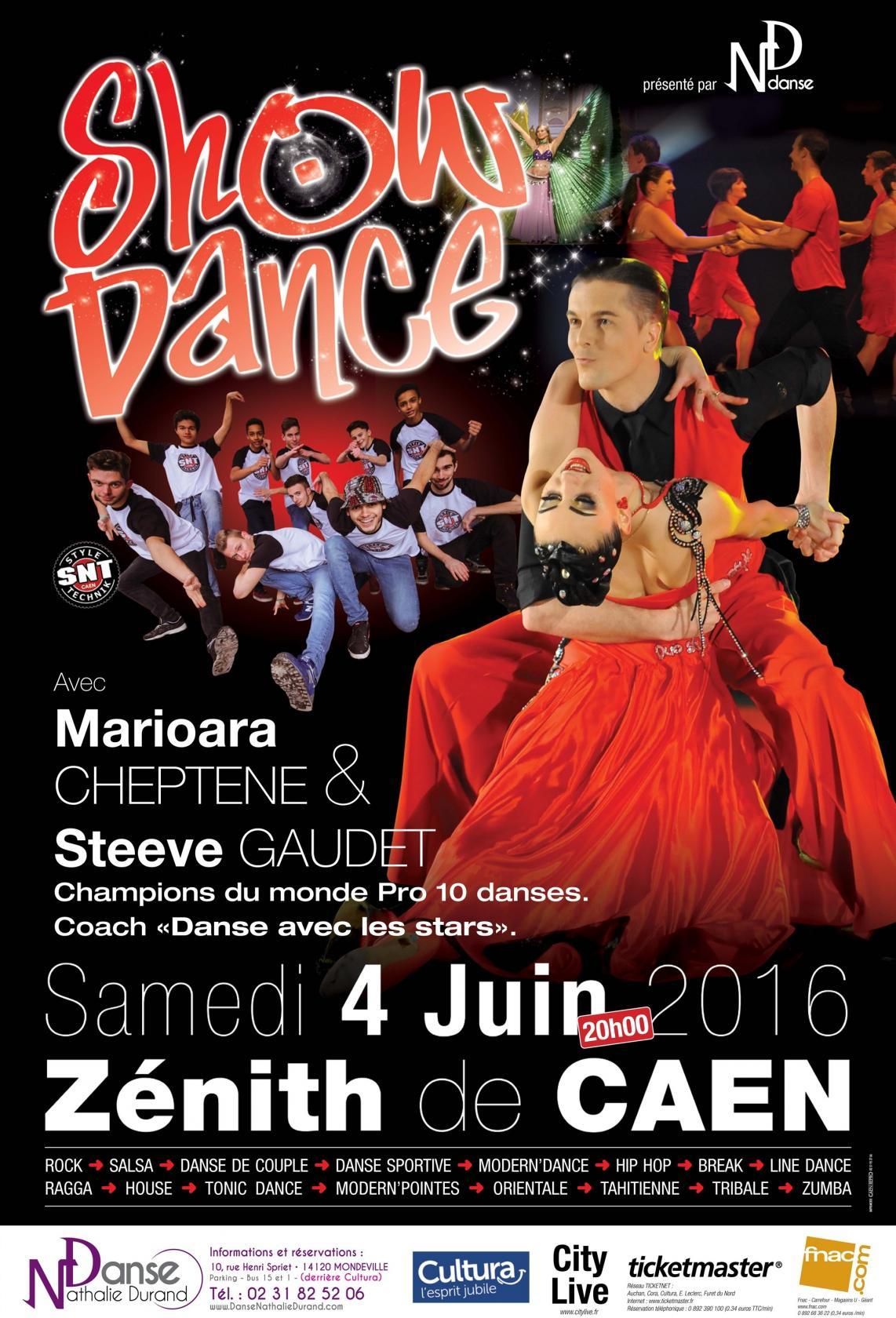 Show dance Nathalie Durand Caen