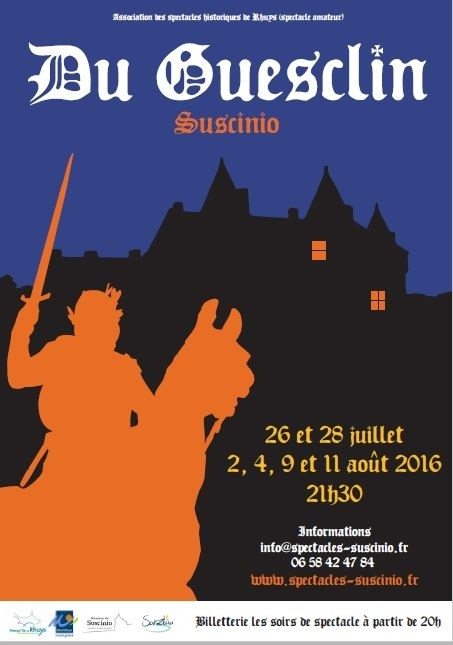 Spectacle historique, Du Guesclin (1320-1380) Sarzeau