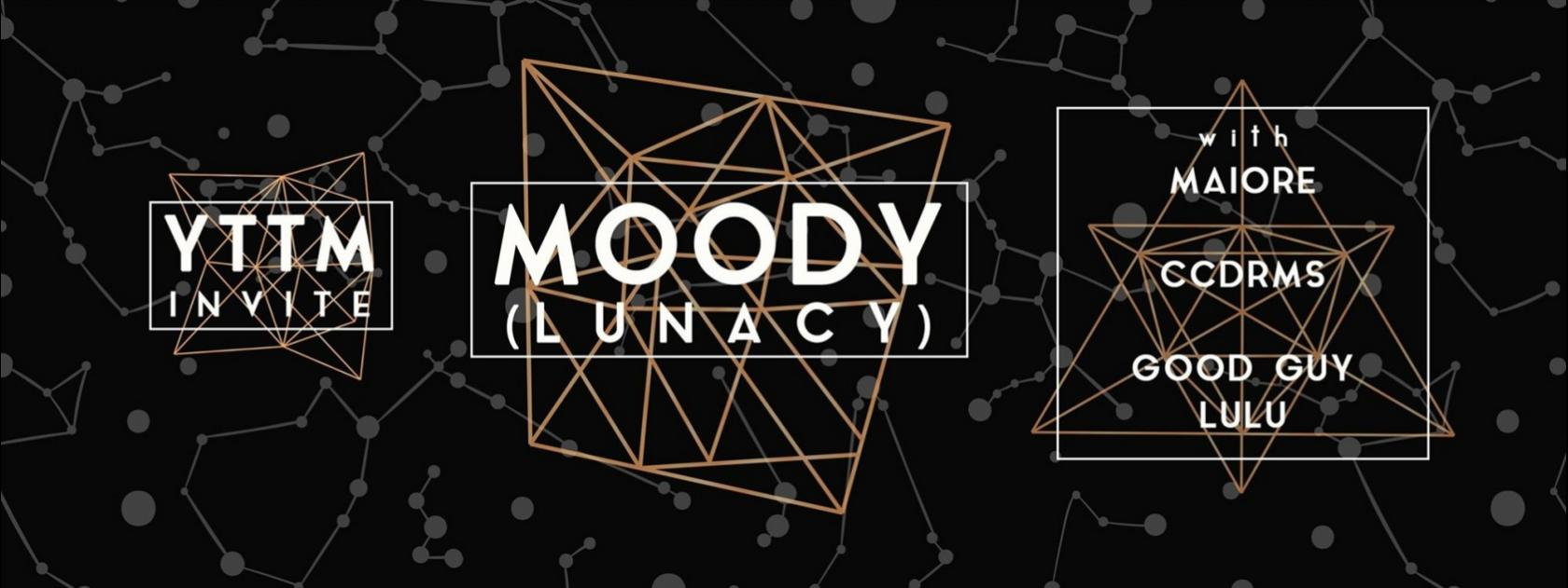 Techno : You took too much invite Moody (Lunacy) Cholet