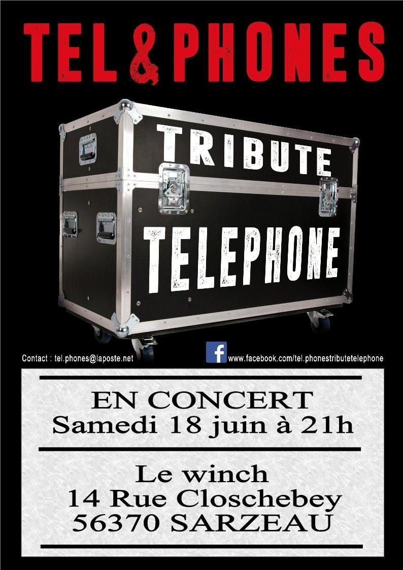 Tel&Phones Tribute Telephone Sarzeau