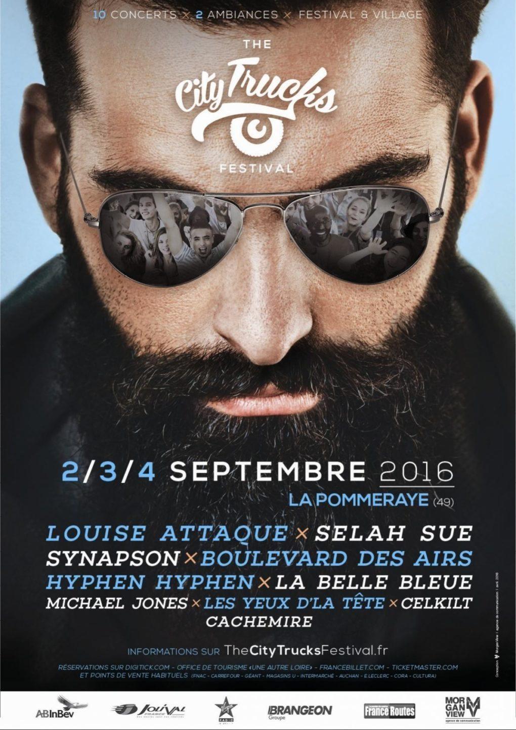 The City trucks festival Mauges-sur-Loire
